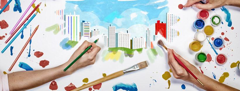 Bandeau illustrant l'article sur la ville du futur