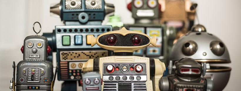 photo de plusieurs robots