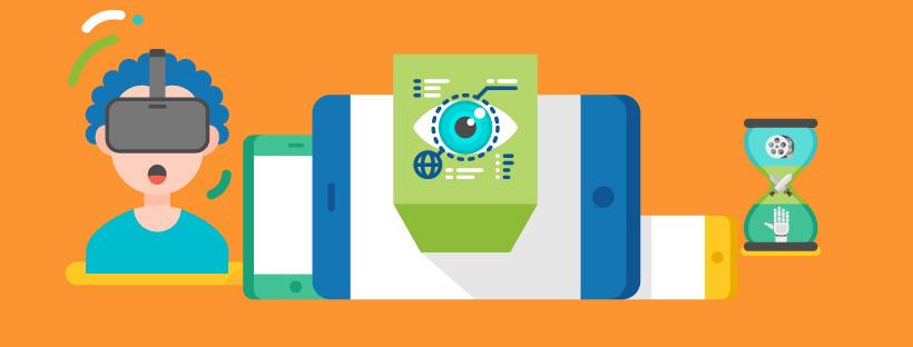 Bannière de l'infographie sur la réalité virtuelle