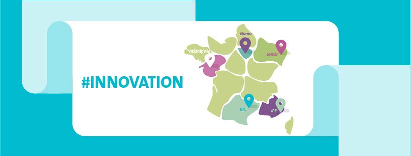 Bandeau de l'infographie sur les incubateurs