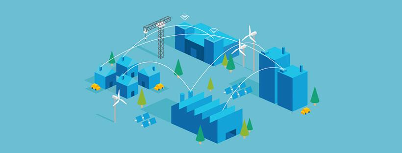 Bandeau de l'infographie sur le top 5 des smartcities